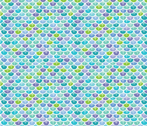 scales-01 fabric by julie_nutting on Spoonflower - custom fabric