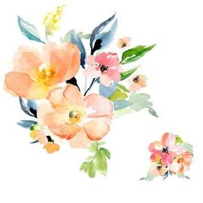 "8"" Floral Print Version 2"