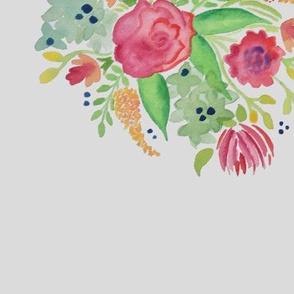 Pink Watercolor Boquet