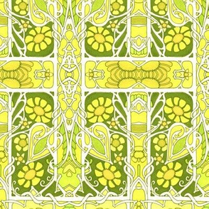 Elegance in Lemon and Lime