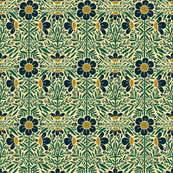 Folk Floral 01   Full Color