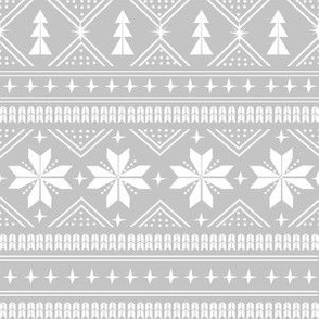 nordic christmas minimal sweater giftwrap holiday fabric grey