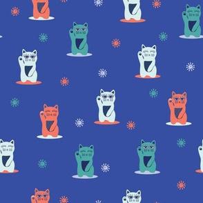 Japanese Maneki-Neko Cats