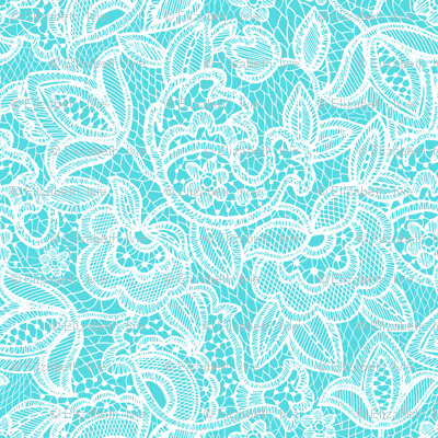 lace // pink maui teal