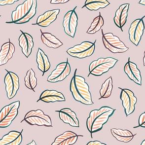 Leaf Toss (Lilac)