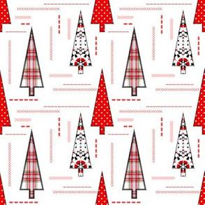 Christmas applique patchwork pattern