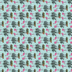 Vintage_flamingos_tea_towel_4x4