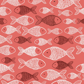 Fish - coral