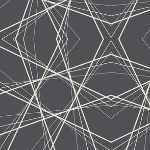 Abstract line grey geo