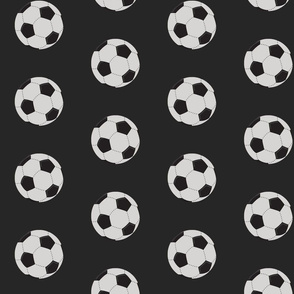 soccer black - Large 467
