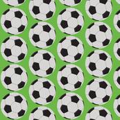 soccer balls - green 42
