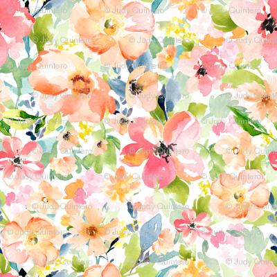 "8""  Floral Love Print"