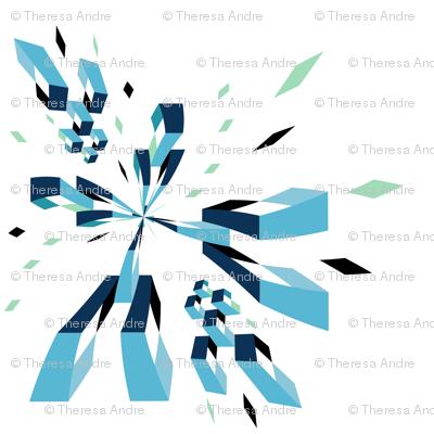 Pixelated Fragmentation