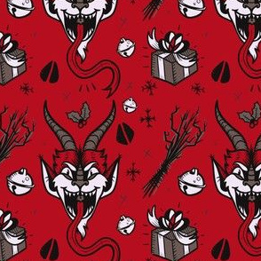 Krampus in Monotone