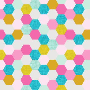 pink maui hexagons
