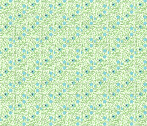 Pens-due  fabric by seska_ on Spoonflower - custom fabric