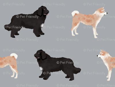 custom dog fabric