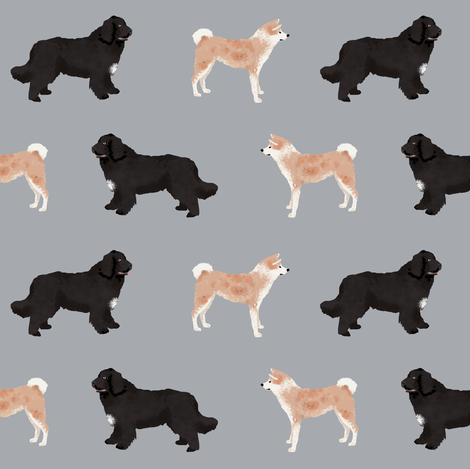 custom dog fabric  fabric by petfriendly on Spoonflower - custom fabric