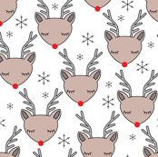 reindeer-faces-and-snowflakes