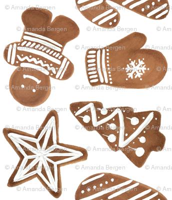 Gingerbread Cookie Sheet