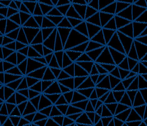 navy geo grid wallpaper - mrshervi - Spoonflower