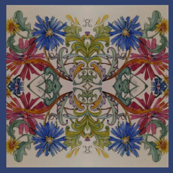 Cornflower tile