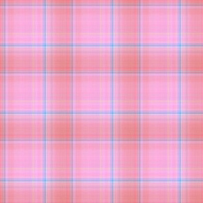 DREAMY UNICORN PLAID BLUSH PINK