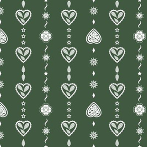 Graphic hearts_Green