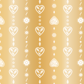 Graphic hearts_Gold