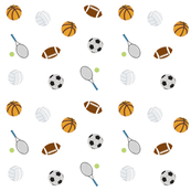 Sports - LARGE 105  ball games