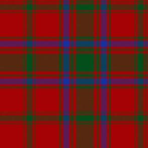 """MacDonell of Glengarry tartan #4, 6"""""""