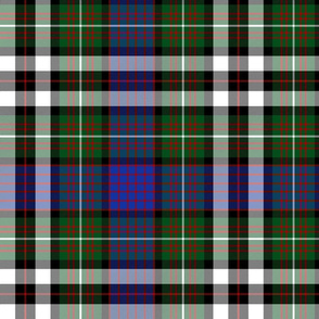 MacDonell of Glengarry dress tartan, 12""