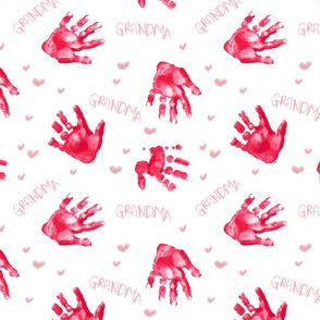Hand Print for Grandma