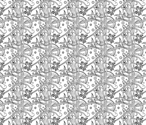 under_the_sea fabric by suzannefs on Spoonflower - custom fabric