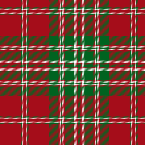 "Mordente tartan, also known as MacFish, 6"" fabric by weavingmajor on Spoonflower - custom fabric"
