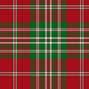 Mordente tartan, also known as MacFish, 6""