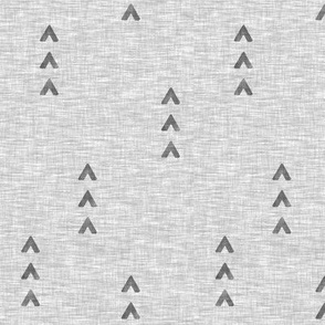 Trip Arrows - grey - triangles