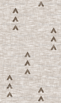 Tri Arrows - mocha