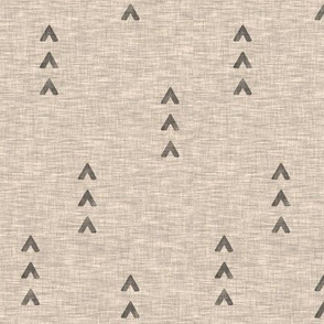 Tri Arrows - tan
