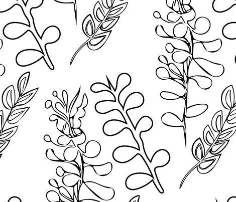 blackandwhite fabric by 2329_design on Spoonflower - custom fabric