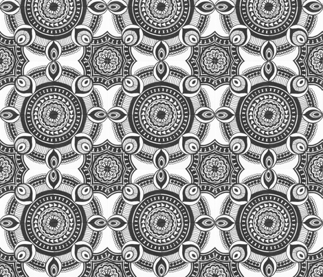 Art_Tile_-_asymmetrical__1 fabric by cindystohn on Spoonflower - custom fabric
