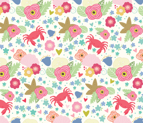 crabs_18_in-01 fabric by julie_nutting on Spoonflower - custom fabric