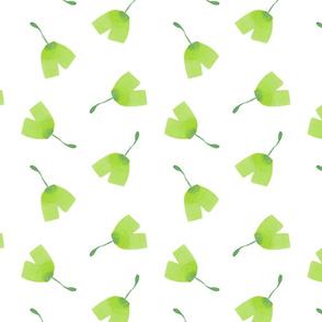 ginkgopattern_green_on_white