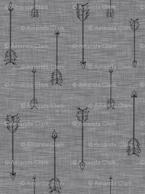 Arrows on Linen - pewrer