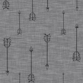 Arrows on Linen - pewrer