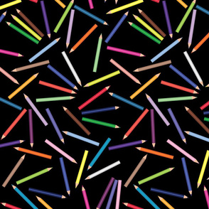 Colored_Pencils_Polka_Scattered_Black_BG