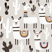 Llama Cactus