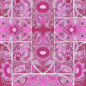 Brightly Pink Garden