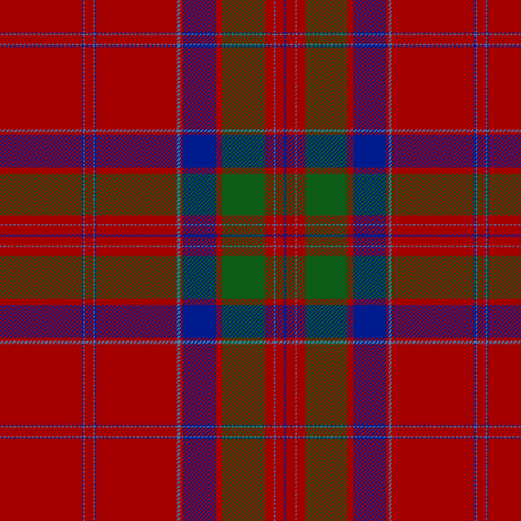 "MacGillivray tartan #1, 6""  fabric by weavingmajor on Spoonflower - custom fabric"