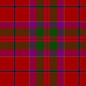 "MacGillivray tartan #2 purple, 6""  - Wilsons of Bannockburn"